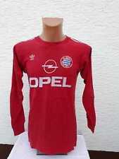 FC Bayern München Trikot 1989/90 adidas Opel M S Home Jersey Shirt Maillot Triko