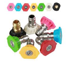 "8PCS/SET Pressure Washer Kit 7 Power Spray Nozzle Tips , 1/4"", 4500 PSI, 8-pack"