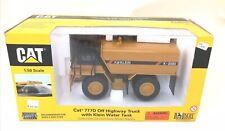 Norscot Caterpillar 777D Off Highway Truck w/ Klein Water Tank 1:50 MIB CAT