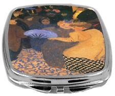 Rikki Knight Felix Vallotton Art Compact Mirror Art In The Music Hall Design NEW