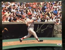 Ted Simmons HOF 2020 PSA St. Louis Cardinals Autographed 11x14 PHOTO Authentic