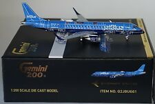 Gemini G2JBU661 Embraer ERJ-190 JetBlue (Blue Print Livery)  N304JB in 1:200