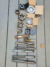 Large Giant Tap Amp Die Reamer Lot Set To 2 12 Industrial Machinist Chucks Cnc