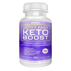 Ultra fast keto boost keto diet pills - advanced weight loss formula - Keto pill