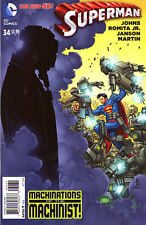 SUPERMAN #34 - New 52 - VARIANT COVER 1:50