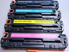 4pK CB540A CB541A CB542A CB543A Color Toner for HP LaserJet Pro CP1518ni CP1515n