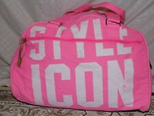 Medium Pink Victoria's Secret Carry-On Luggage Duffel Bag