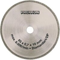Diamante Recubierto Sierra Hoja para Proxxon Fet de MESA Chronos 28735