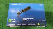 LINKSYS BY CISCO (NIB) WUSB54GC COMPACT WIRELESS-G USB ADAPTER  (O-6/B)