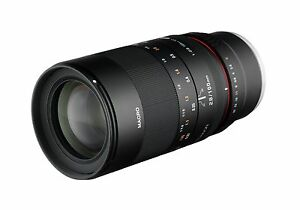 Rokinon 100mm F2.8 ED UMC Telephoto Macro Lens for Fuji X Mount - 100M-FX