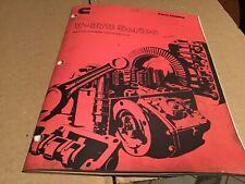 Cummins Parts Catalog V-378,  Automotive,CONSTRUCTION,INDUSTRIAL  APPLICATIONS