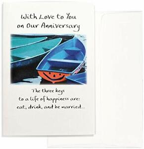 Blue Mountain Arts Greeting Card With Love to You on Our Anniversary