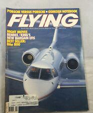 Oshkosh Notebook Bendix BAe 800 Nov  1988 Flying Magazine Vintage