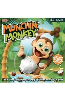 Munchin' Monkey Game by IDEAL