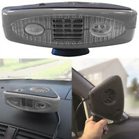 12v Dash Mount & Hand Portable Hot & Cold Car Heater Fan & Defroster NEW VERSION