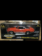 1970 Oldsmobile Cutlass SX Red Oldsmobile 1:18 Ertl American Muscle 33771