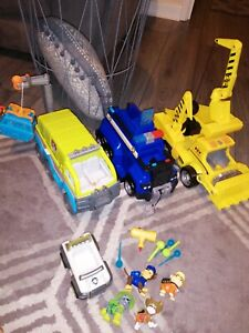 Paw Patrol Big Trucks Rubble Chase Jungle Bundle Lights Sounds