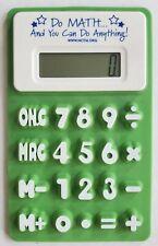 Nctm Soft Silicone Handheld Foldable Calculator School Office Tool Kids Teachers