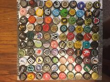 100 DIFFERENT UNIQUE CRAFT MICRO BEER BOTTLE CAPS LOT - UNDENTED