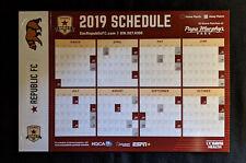 2019 Sacramento Republic F.C. Soccer Magnetic Schedule