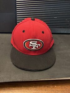 San Francisco 49ers NFL Low Crown 100% Wool New Era 59FIFTY Fitted Hat - 6 3/4