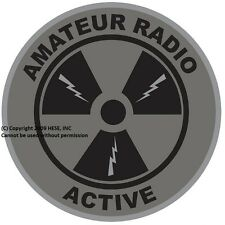 "PATCH ""Amateur Radio Active"" Subdued Emblem-4"""