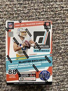 2021 Panini Donruss NFL Football Blaster Box 88 Cards Brand New Factory Sealed