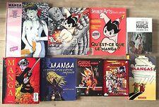 LOT 9 VOLUMES HISTOIRE DU MANGA TEZUKA TANIGUCHI MATSUMOTO ...  TTBE