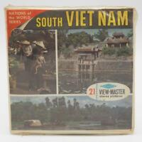 Vintage B250 South Vietnam World Nations view-master Reels Packet Sealed