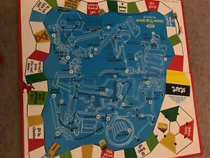 Mousetrap Game, Playing Board. Genuine Ideal Games Part.