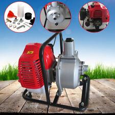 "New listing 1"" Petrol High Pressure Water Transfer Pump Flood Irrigation 2 Stroke 7000 rmp"