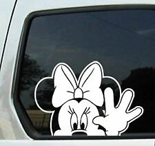 BRAND NEW DISNEY CAR 7646 MINNIE MOUSE WINDOW DECAL//STICKER