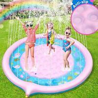 Jojoin Sprinkle and Splash Inflatable Water Play Mat NON-SLIP Garden Toy Kids
