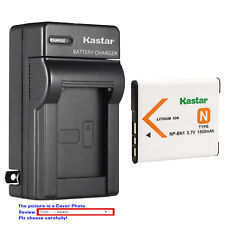 NP-BN1 BC-CSN Battery or Wall Charger for Sony Cyber-shot DSC-WX220 WX30 WX5 WX7
