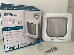 Sureflap Microchip Cat Flap Door Automatic, very light use, great condition