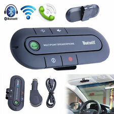Wireless Multipoint Bluetooth HandsFree Car Kits Speakerphone Speaker Visor Clip