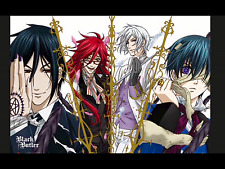 Black Butler Anime Kuroshitsuji Japan Anime Manga Print Card *rare*