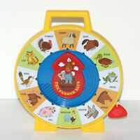 Mattel See 'N Say The Farmer Says Pull String Toy Animals, Talking Animal Sounds