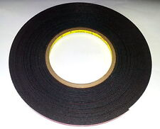 3M VHB  PT1100 36'X5mm Double Sided Acrylic Plus Foam Tape Exceeds 5952 Adhesion