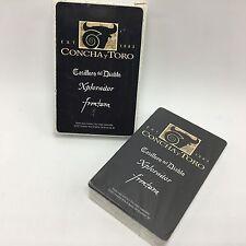 Concha y Toro Wine Casillero del Diablo Xplorador Frontera Sealed Playing Cards