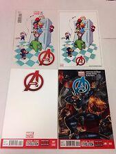 The Avengers Marvel Now 1 2 3 4 5 6 7 8 9 through 44 34.1 34.2 Annual variant