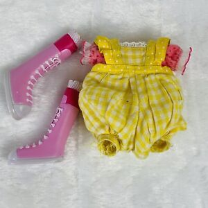 Lalaloopsy Replacement Outfit & Shoes Crumbs Sugar Cookie Silly Hair Full Size