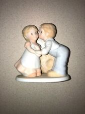 "Circle of Friends porcelain figurine First Kiss 4 1/2 "" tall"