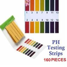 160pcs PH Test Strips Alkaline Litmus Paper Urine Saliva Level Indicator PH 1-14