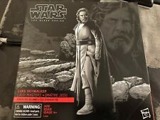 Star Wars Black Series 6 inch Luke Skywalker The Last Jedi Island w/Base Hasbro