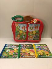 VTech. Touch and Teach Busy Books. With 3 Books. Tested.