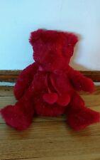 Russ Teddy Bear Plush Stuffed Animal Russ Berrie Sparkle Tassle Cute Nice