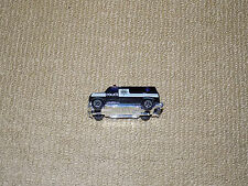 BLACK POLICE FORCE VAN, DIECAST METAL CAR, EXCELLENT CONDITION