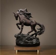 Resin horse statue sculpture homedecor modern living room for animal statues