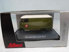 Schuco : Mercedes L319 PTT Green  No: 25399  Scale 1:87